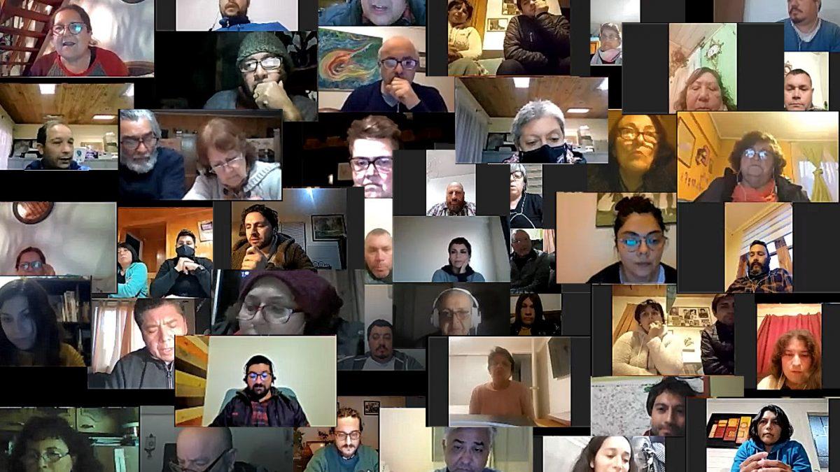 Registro de los primeros Talleres participativos on-line